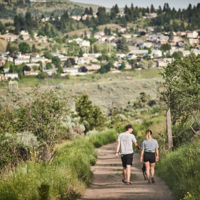 creston house - hiking trails kamloops